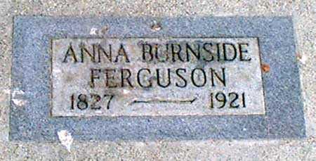 NAYLOR BURNSIDE, ANNA ELIZA - Baker County, Oregon | ANNA ELIZA NAYLOR BURNSIDE - Oregon Gravestone Photos