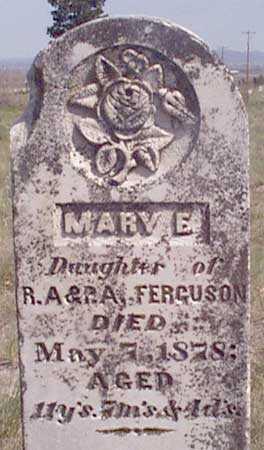 FERGUSON, MARY E. - Baker County, Oregon   MARY E. FERGUSON - Oregon Gravestone Photos