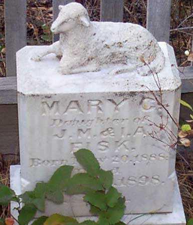 FISK, MARY C. - Baker County, Oregon | MARY C. FISK - Oregon Gravestone Photos