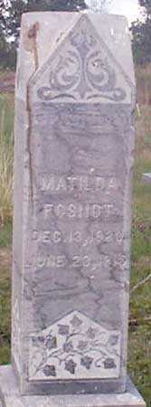 FOSNOT, MATILDA - Baker County, Oregon | MATILDA FOSNOT - Oregon Gravestone Photos