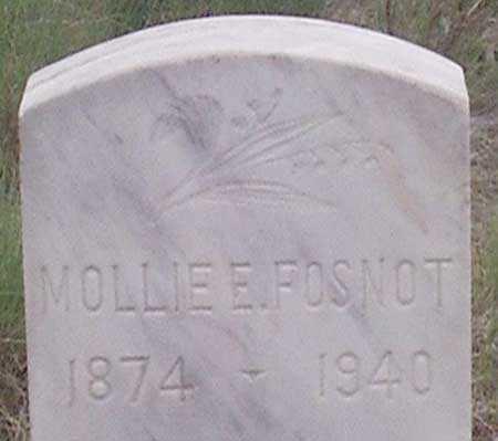FOSNOT, MOLLIE ELIZABETH - Baker County, Oregon | MOLLIE ELIZABETH FOSNOT - Oregon Gravestone Photos