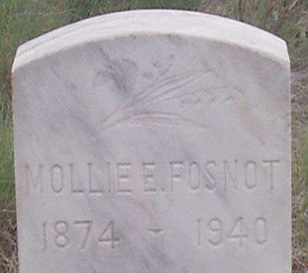 FOSNOT, MOLLIE ELIZABETH - Baker County, Oregon | MOLLIE ELIZABETH FOSNOT - Oregon Gravestone Photos