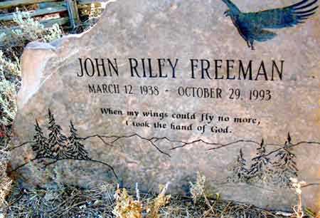 FREEMAN, JOHN RILEY - Baker County, Oregon | JOHN RILEY FREEMAN - Oregon Gravestone Photos