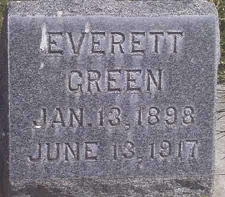 GREEN, EVERETT - Baker County, Oregon   EVERETT GREEN - Oregon Gravestone Photos