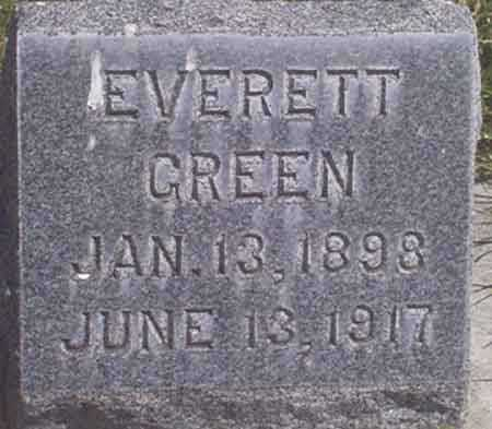GREEN, EVERETT - Baker County, Oregon | EVERETT GREEN - Oregon Gravestone Photos