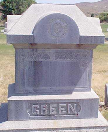 GREEN, FAMILY - Baker County, Oregon   FAMILY GREEN - Oregon Gravestone Photos