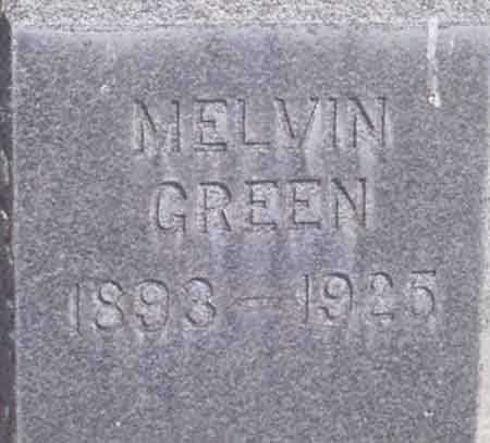 GREEN, MELVIN - Baker County, Oregon | MELVIN GREEN - Oregon Gravestone Photos