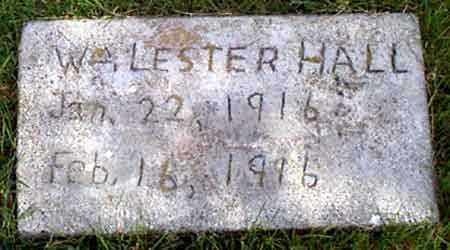 HALL, WILLIAM LESTER - Baker County, Oregon | WILLIAM LESTER HALL - Oregon Gravestone Photos