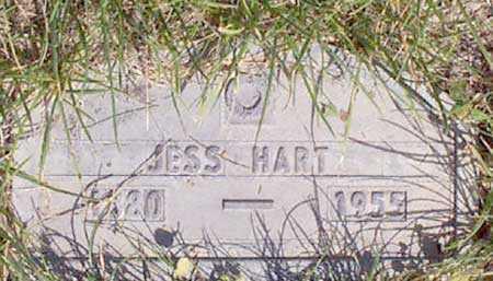 HART, JESS B. - Baker County, Oregon | JESS B. HART - Oregon Gravestone Photos