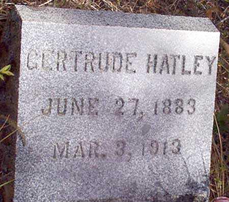DAILY HATLEY, GERTRUDE B. - Baker County, Oregon | GERTRUDE B. DAILY HATLEY - Oregon Gravestone Photos