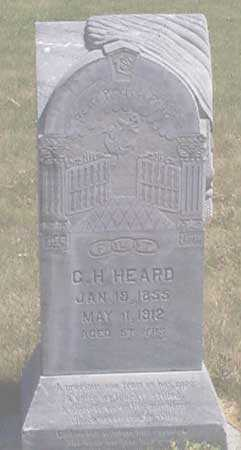 HEARD, GILES H. - Baker County, Oregon | GILES H. HEARD - Oregon Gravestone Photos