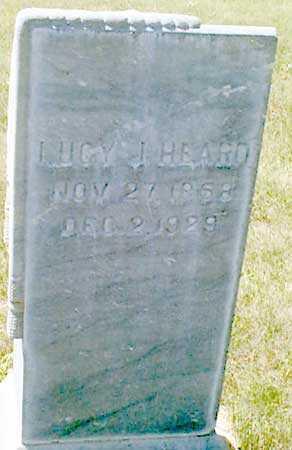HEARD, LUCY JANE - Baker County, Oregon | LUCY JANE HEARD - Oregon Gravestone Photos