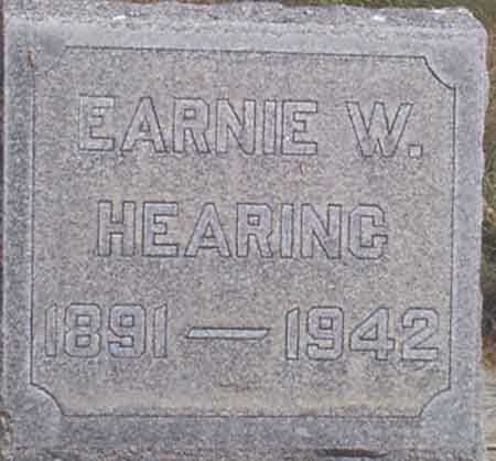 HEARING, EARNIE WES - Baker County, Oregon | EARNIE WES HEARING - Oregon Gravestone Photos