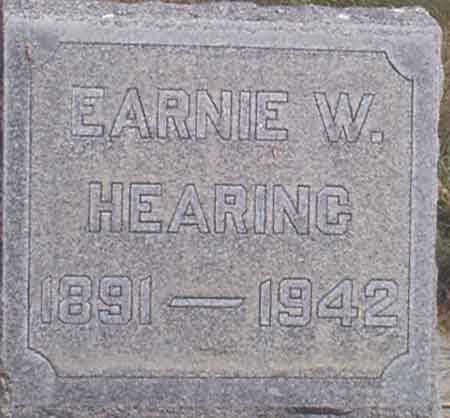 HEARING, EARNIE WES - Baker County, Oregon   EARNIE WES HEARING - Oregon Gravestone Photos