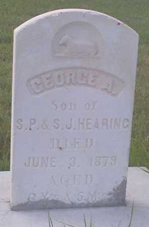 HEARING, GEORGE ALLEN - Baker County, Oregon | GEORGE ALLEN HEARING - Oregon Gravestone Photos