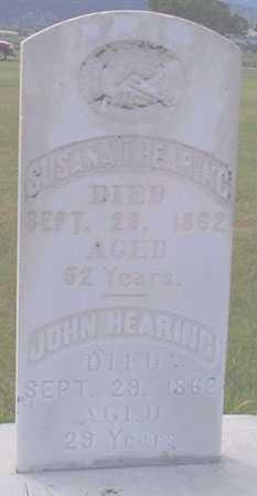 HEARING, JOHN - Baker County, Oregon | JOHN HEARING - Oregon Gravestone Photos