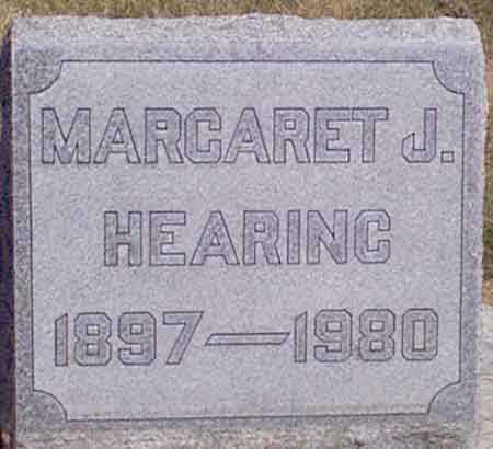 HEARING, MARGARET J. - Baker County, Oregon | MARGARET J. HEARING - Oregon Gravestone Photos