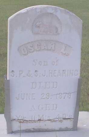 HEARING, OSCAR LEE - Baker County, Oregon | OSCAR LEE HEARING - Oregon Gravestone Photos