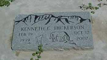 HICKERSON, KENNETH C. - Baker County, Oregon | KENNETH C. HICKERSON - Oregon Gravestone Photos