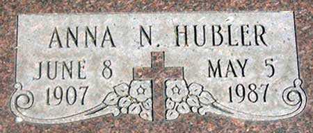 NEAULT HUBLER, ANNA NERI - Baker County, Oregon | ANNA NERI NEAULT HUBLER - Oregon Gravestone Photos