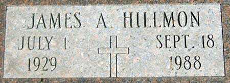 HILLMON, JAMES AUSTIN, JR. - Baker County, Oregon | JAMES AUSTIN, JR. HILLMON - Oregon Gravestone Photos