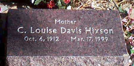 DAVIS HIXSON, C. LOUISE - Baker County, Oregon | C. LOUISE DAVIS HIXSON - Oregon Gravestone Photos