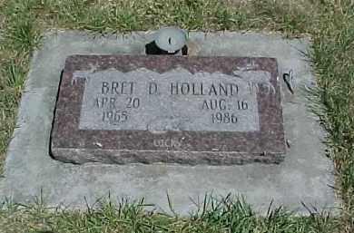 HOLLAND, BRET D. - Baker County, Oregon | BRET D. HOLLAND - Oregon Gravestone Photos