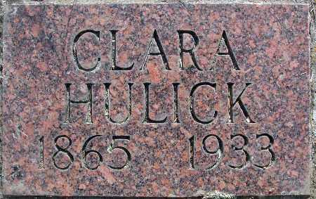 BURFORD HULICK, CLARA JEAN - Baker County, Oregon | CLARA JEAN BURFORD HULICK - Oregon Gravestone Photos
