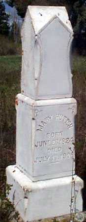 BURROUGH HUTTON, MARY (FULL-VIEW) - Baker County, Oregon | MARY (FULL-VIEW) BURROUGH HUTTON - Oregon Gravestone Photos