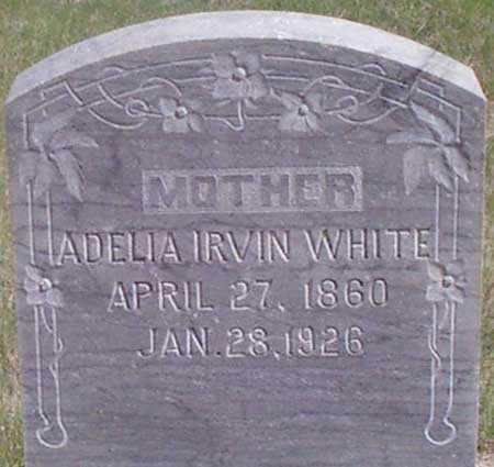 IRVIN, MATILDA ADELIA - Baker County, Oregon | MATILDA ADELIA IRVIN - Oregon Gravestone Photos