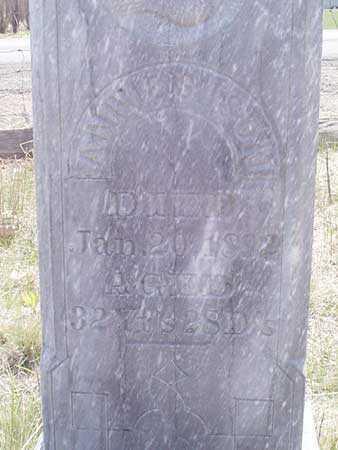 ISON, ANNIE S. (NORTH 4X4) - Baker County, Oregon   ANNIE S. (NORTH 4X4) ISON - Oregon Gravestone Photos