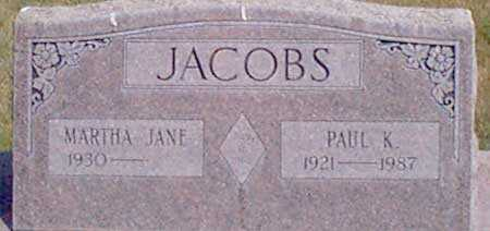 JACOBS, PAUL K. - Baker County, Oregon | PAUL K. JACOBS - Oregon Gravestone Photos