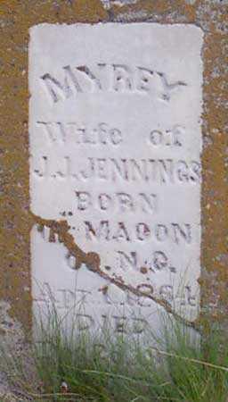 JENNINGS, MYREY - Baker County, Oregon | MYREY JENNINGS - Oregon Gravestone Photos