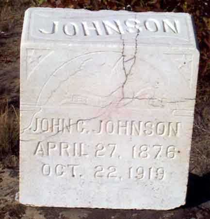 JOHNSON, JOHN C. - Baker County, Oregon | JOHN C. JOHNSON - Oregon Gravestone Photos