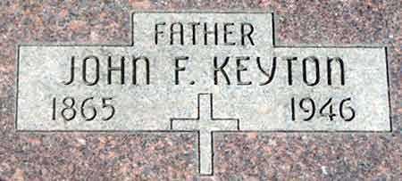 KEYTON, JOHN FRANKLIN - Baker County, Oregon | JOHN FRANKLIN KEYTON - Oregon Gravestone Photos