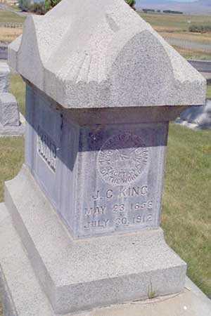 KING, JAMES C. - Baker County, Oregon | JAMES C. KING - Oregon Gravestone Photos