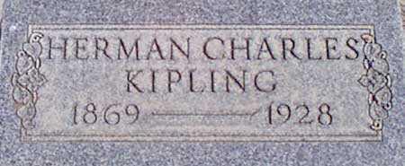 KIPLING, HERMAN CHARLES - Baker County, Oregon | HERMAN CHARLES KIPLING - Oregon Gravestone Photos