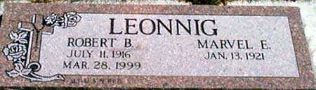 LEONNIG, ROBERT B. - Baker County, Oregon | ROBERT B. LEONNIG - Oregon Gravestone Photos