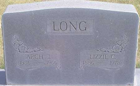 LONG, CARRIE ELIZABETH (LIZZIE) - Baker County, Oregon | CARRIE ELIZABETH (LIZZIE) LONG - Oregon Gravestone Photos