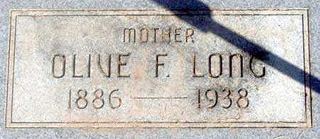 LONG, OLIVE - Baker County, Oregon | OLIVE LONG - Oregon Gravestone Photos