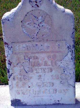 LONG, THOMAS SYLVANIS - Baker County, Oregon | THOMAS SYLVANIS LONG - Oregon Gravestone Photos