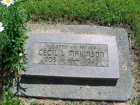 MAKINSON, CECIL L. - Baker County, Oregon   CECIL L. MAKINSON - Oregon Gravestone Photos