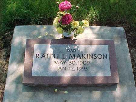 MAKINSON, RALPH L. - Baker County, Oregon | RALPH L. MAKINSON - Oregon Gravestone Photos