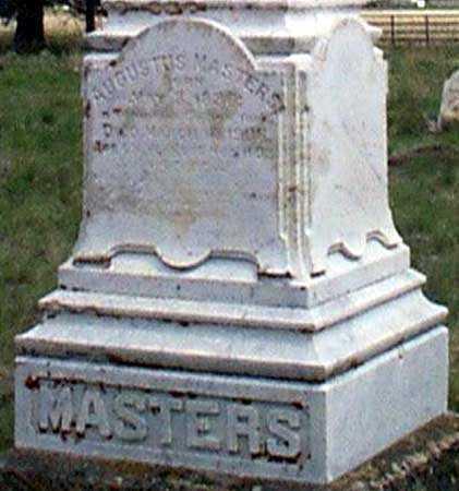 MASTERS, AUGUSTUS - Baker County, Oregon | AUGUSTUS MASTERS - Oregon Gravestone Photos