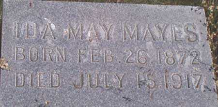 MAUK MAYES, IDA MAY - Baker County, Oregon   IDA MAY MAUK MAYES - Oregon Gravestone Photos