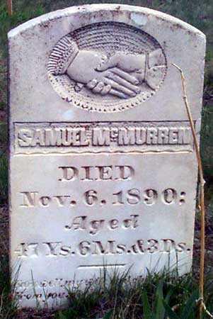 MCMURREN, SAMUEL - Baker County, Oregon | SAMUEL MCMURREN - Oregon Gravestone Photos