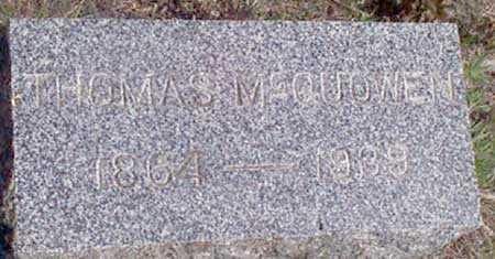 MCQUOWEN, THOMAS - Baker County, Oregon | THOMAS MCQUOWEN - Oregon Gravestone Photos