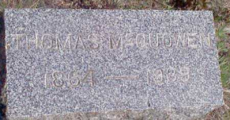 MCQUOWEN, THOMAS - Baker County, Oregon | THOMAS MCQUOWEN - Oregon Gravestone Photos