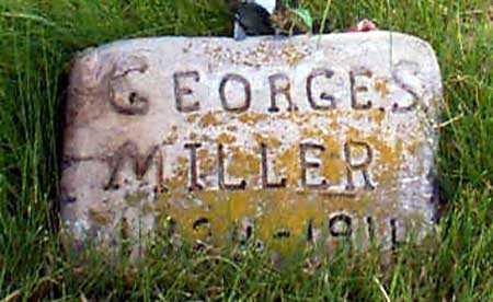 MILLER, GEORGE AMBROSE - Baker County, Oregon | GEORGE AMBROSE MILLER - Oregon Gravestone Photos