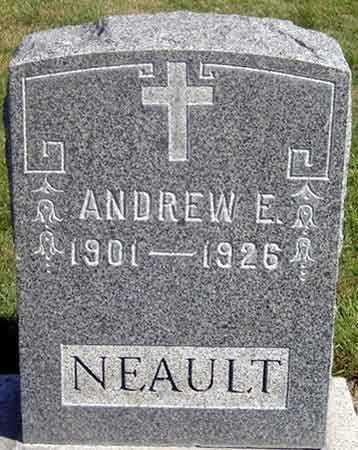 NEAULT, ANDREW E. N. - Baker County, Oregon | ANDREW E. N. NEAULT - Oregon Gravestone Photos